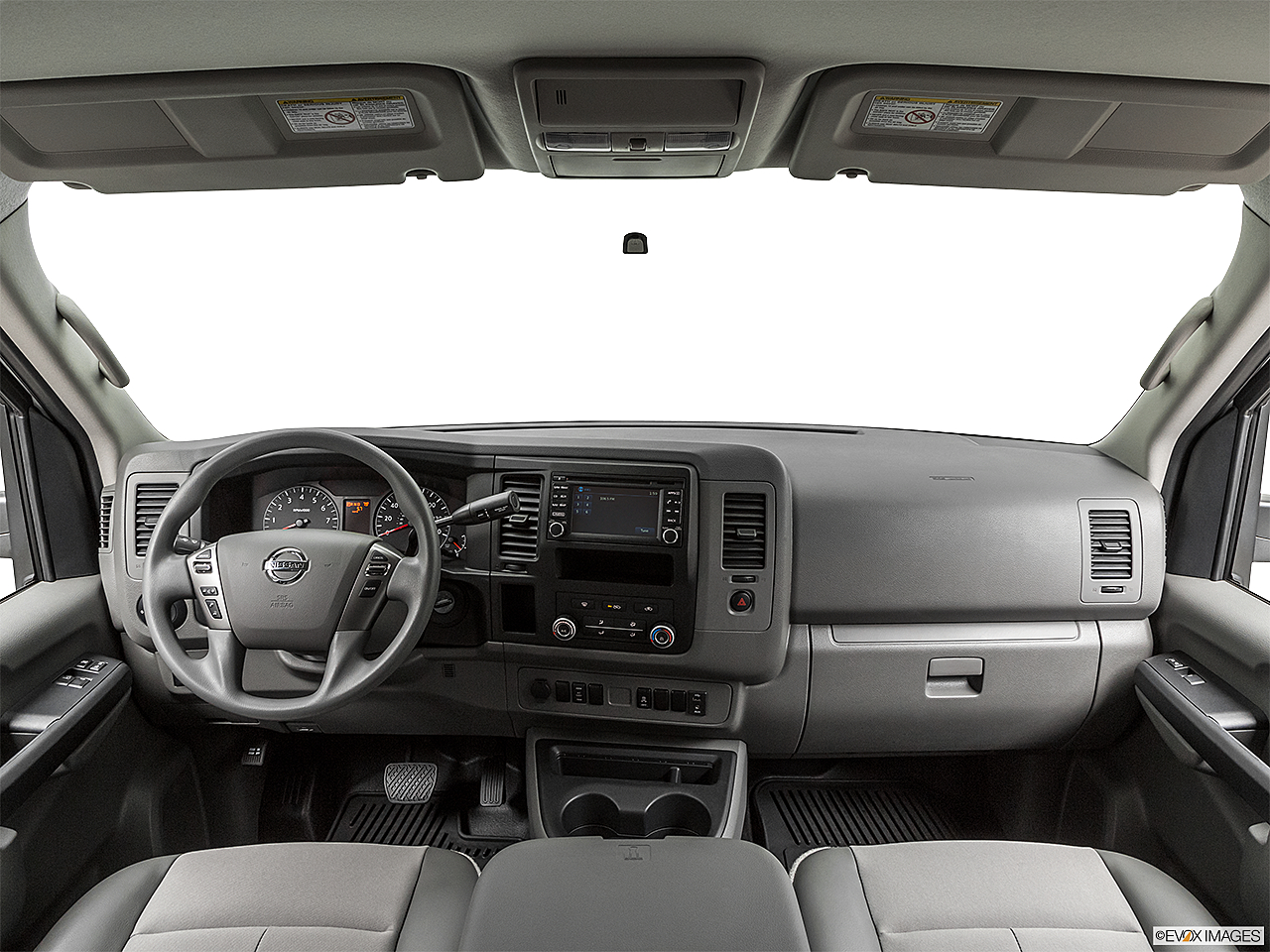 2019 Nissan NV2500 HD Cargo SV V6, centered wide dash shot