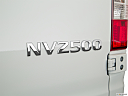 2019 Nissan NV2500 HD Cargo SV V6, rear model badge/emblem