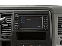 2019 Nissan NV2500 HD Cargo SV V6, closeup of radio head unit