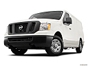 2019 Nissan NV2500 HD Cargo SV V6, front angle view, low wide perspective.