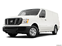 2019 Nissan NV2500 HD Cargo SV V6, front angle medium view.