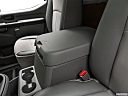 2019 Nissan NV2500 HD Cargo SV V6, front center console with closed lid, from driver's side looking down
