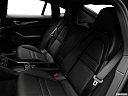 2019 Porsche Panamera, rear seats from drivers side.