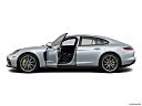 2019 Porsche Panamera 4 E-Hybrid, driver's side profile with drivers side door open.