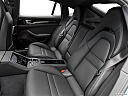 2019 Porsche Panamera 4 E-Hybrid, rear seats from drivers side.