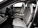 2019 Porsche Panamera 4S Executive, front seats from drivers side.