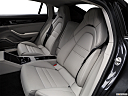 2019 Porsche Panamera 4S Executive, rear seats from drivers side.