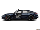 2019 Porsche Panamera Turbo, driver's side profile with drivers side door open.