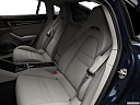 2019 Porsche Panamera Turbo, rear seats from drivers side.