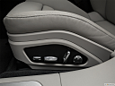 2019 Porsche Panamera Turbo, seat adjustment controllers.