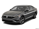 2019 Volkswagen Jetta 1.4T R-Line, front angle view.