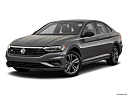 2019 Volkswagen Jetta 1.4T R-Line, front angle medium view.