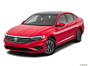 2019 Volkswagen Jetta 1.4T SE, front angle view.