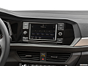2019 Volkswagen Jetta 1.4T SE, closeup of radio head unit