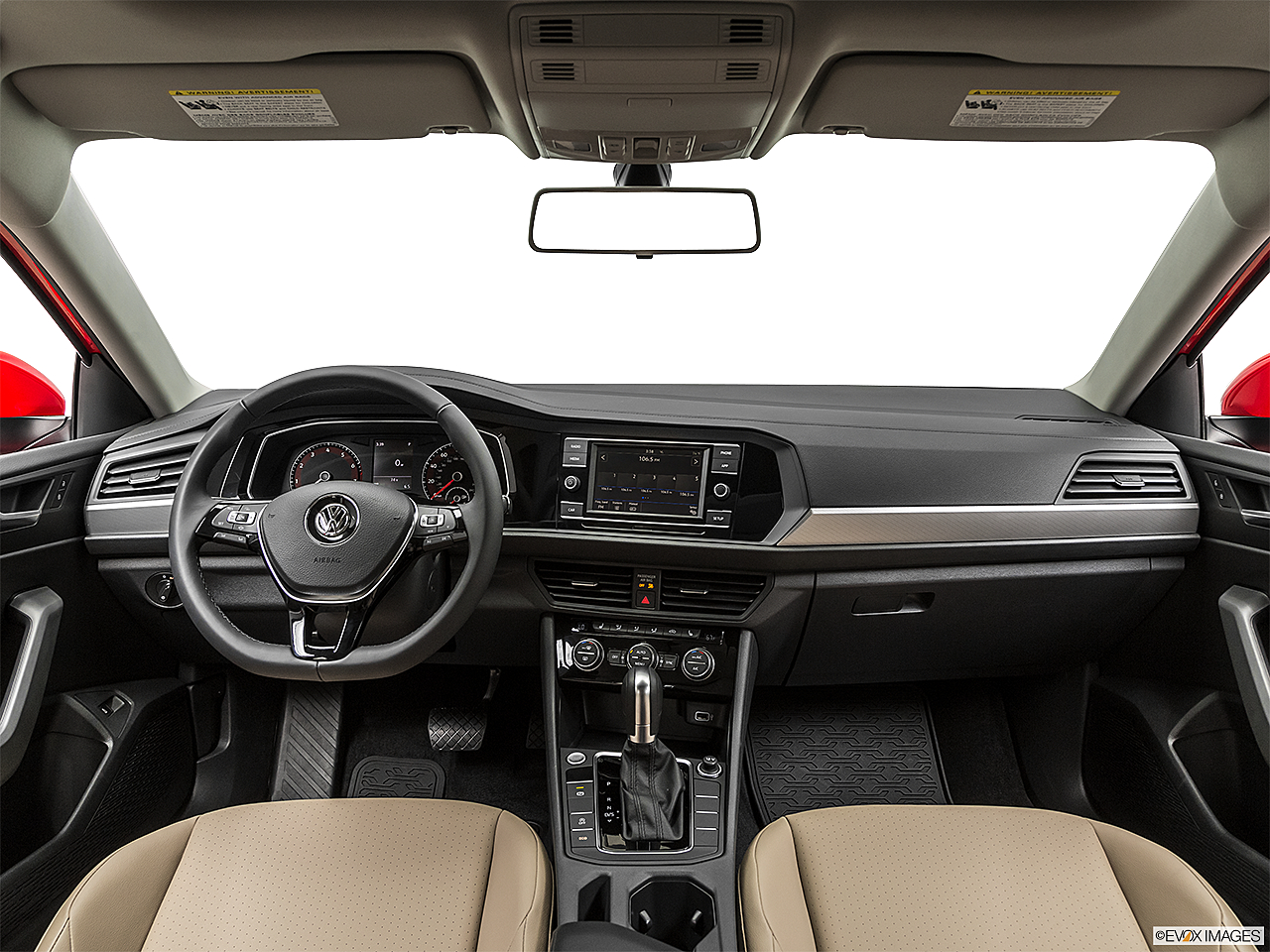 2019 Volkswagen Jetta 1.4T SE, centered wide dash shot