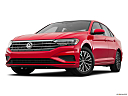 2019 Volkswagen Jetta 1.4T SE, front angle view, low wide perspective.