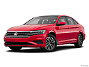 2019 Volkswagen Jetta 1.4T SE, front angle medium view.
