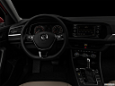 "2019 Volkswagen Jetta 1.4T SE, centered wide dash shot - ""night"" shot."