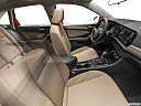 2019 Volkswagen Jetta 1.4T SE, fake buck shot - interior from passenger b pillar.