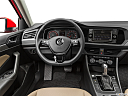 2019 Volkswagen Jetta 1.4T SE, steering wheel/center console.