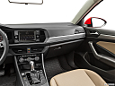 2019 Volkswagen Jetta 1.4T SE, center console/passenger side.