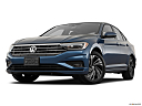 2019 Volkswagen Jetta SEL Premium, front angle view, low wide perspective.