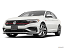 2019 Volkswagen Jetta GLI S, front angle view, low wide perspective.