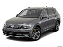 2019 Volkswagen Tiguan SEL R-Line, front angle view.