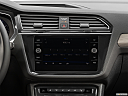 2019 Volkswagen Tiguan SEL R-Line, closeup of radio head unit