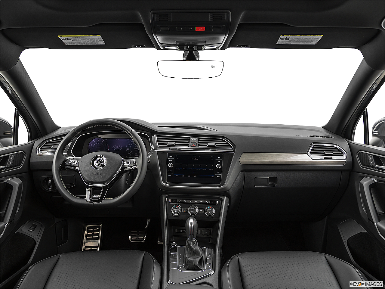 2019 Volkswagen Tiguan SEL R-Line, centered wide dash shot