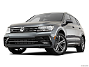 2019 Volkswagen Tiguan SEL R-Line, front angle view, low wide perspective.