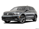 2019 Volkswagen Tiguan SEL R-Line, front angle medium view.