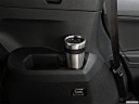 2019 Volkswagen Tiguan SEL R-Line, third row side cup holder with coffee prop.