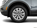 2019 Volkswagen Tiguan SE, front drivers side wheel at profile.