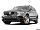 2019 Volkswagen Tiguan SE, front angle view, low wide perspective.