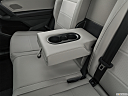2019 Volkswagen Tiguan SE, rear center console with closed lid from driver's side looking down.