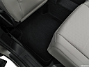 2019 Volkswagen Tiguan SE, rear driver's side floor mat. mid-seat level from outside looking in.