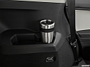 2019 Volkswagen Tiguan SE, third row side cup holder with coffee prop.