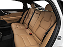 2019 Volvo S90 T5 Momentum, rear seats from drivers side.