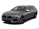 2019 Volvo V90 T6 AWD R-DESIGN, front angle view.