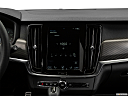 2019 Volvo V90 T6 AWD R-DESIGN, closeup of radio head unit
