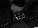 2019 Volvo V90 T6 AWD R-DESIGN, rear a/c controls.