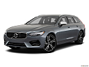 2019 Volvo V90 T6 AWD R-DESIGN, front angle medium view.