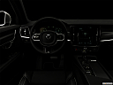 "2019 Volvo V90 T6 AWD R-DESIGN, centered wide dash shot - ""night"" shot."