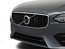 2019 Volvo V90 T6 AWD R-DESIGN, close up of grill.