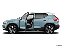 2019 Volvo XC40 T5 Momentum AWD, driver's side profile with drivers side door open.