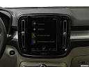 2019 Volvo XC40 T5 Momentum AWD, closeup of radio head unit