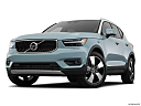 2019 Volvo XC40 T5 Momentum AWD, front angle view, low wide perspective.