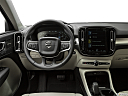 2019 Volvo XC40 T5 Momentum AWD, steering wheel/center console.
