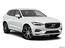2019 Volvo XC60 T8 Inscription eAWD Plug-in Hybrid, front passenger 3/4 w/ wheels turned.